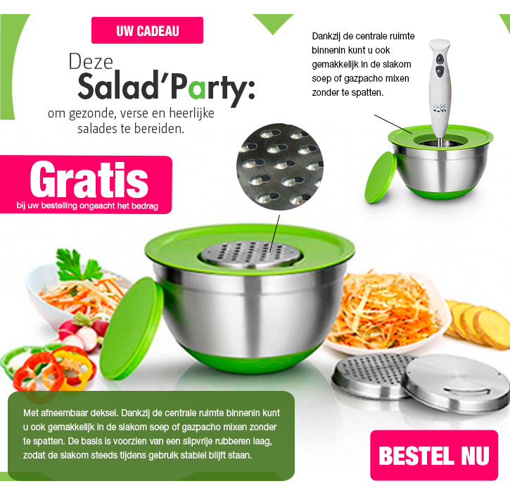 JM-Bruneau Salad Party gratis code