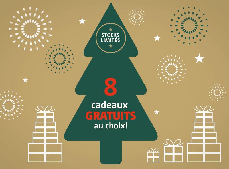 Choisissez votre cadeau rêvé pour Noël ...