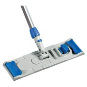 Support for professional flat mop
