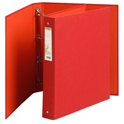 Binder Forever 4 rings back 35 mm red