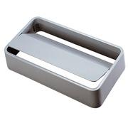 Couvercle basculant pour poubelles tri sélectif Slim Jim gris