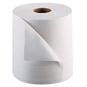 Pack of 2 hand towel rolls industrial eco white