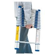 Telescopic ladder Tubesca 3,20 m aluminium