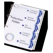 Intercalaire A4 carte blanche Avery Index Maker 6 onglets neutres blancs- 1 jeu