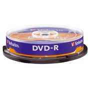 Spindle 10 DVD-R Verbatim 16x