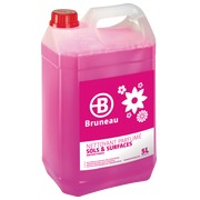 Multi-use detergent, Bruneau, flowers, can of 5 litres