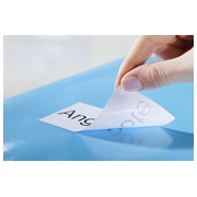 Package of 300 removable labels Avery L 4743 99,1 x 42,3 mm for laser printer