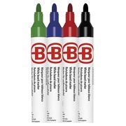 Etui mit 4 verwischbaren Markierstiften JMB