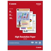 Papier photo Canon HR101 A4 106 g - 50 feuilles