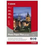 Papier photo satiné Canon SG201 A4 260 g - 20 feuilles