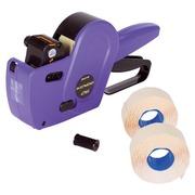Pak etiketteertang Kendo met 8 + 2 etiketteerrollen en 1 inktrol