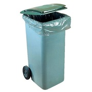 Garbage bag 750 liters for containers - pack of 50