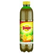 Jus d'ace orange-carotte-citron Pago 1 L - Carton de 6 bouteilles