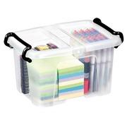 Opbergbox plastic 6 L Strata transparant