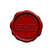 LAKSTEMPEL diameter 35mm