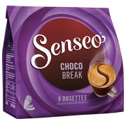 Package of 8 doses Senseo Chocobreak with purchase of 10 packages Senseo