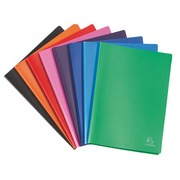 Document protection Exacompta opaque polypropylene A4 50 sleeves assorted colors