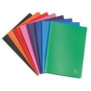 Protège-documents Exacompta polypropylène opaque A4 50 pochettes - 100 vues couleurs assorties