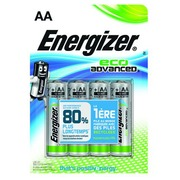 Blister 4 piles Energizer Eco Advanced LR06
