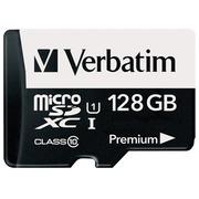 Verbatim Premium - carte mémoire flash - 128 Go - microSDXC UHS-I