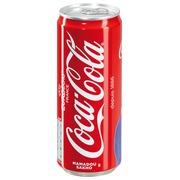 Doos 24 blikjes Coca Cola 33 cl