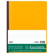 Standaard register 32x25 cm - gelijnd - genummerd - met identificatieblad - 80 blad.
