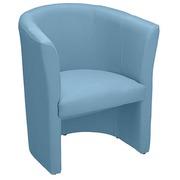 Sofa Premium trendy in Stoff himmelblau