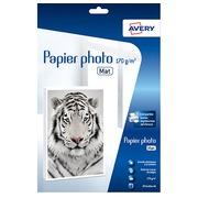 Papier photo pour impressions jet d'encre Avery A4 170 g - 20 feuilles