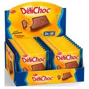 Biscuit Delacre Delichoc chocolat au lait x 2 - Format pocket 50 g