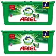 Pack 1 Schachtel Ariel Pods 3-in-1 Original + 1 gratis
