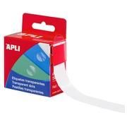 Apli Box of 500 Transparent dots Ø 15 mm