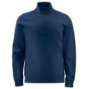 2128 Sweatshirt 1/2 zip Navy 4XL