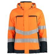 6441 padded jacket HV Orange 4XL