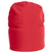 9038 Beanie Fleece lined Red