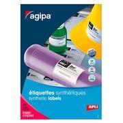 Etiketten zeer grote weerstand laser 210 x 148,5 mm Apli - wit - zakje van 200