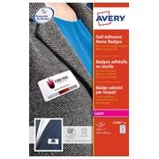 Etiquette badge Avery L4784-20 63,5x29,6mm adhésif 540pcs
