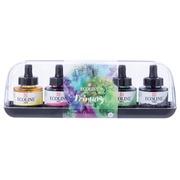 Talens Ecoline peinture à l'eau flacon de 30 ml, set de 5 flacons en couleurs primaires