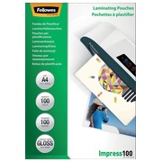 Pochette de plastification Fellowes A4 2x100mic 100pcs