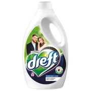 Bottle of 2,2L Dreft washing liquid, dark colors