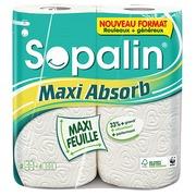Afdroogrollen Sopalin Maxi Absorb - pak van 2
