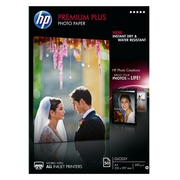 HP Premium Plus Photo Paper - papier photo - 50 feuille(s) - A4 - 300 g/m²