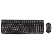 Logitech Desktop MK120 - Tastatur-und-Maus-Set - Belgien