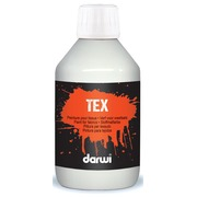Darwi peinture textile Tex, 250 ml, blanc
