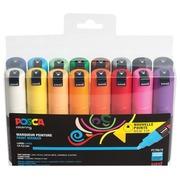 Posca paintmarker PC-7M, set de 16 pièces en couleurs assorties