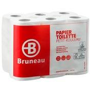 Toiletpapier dubbele dikte Bruneau - doos van 96 rollen 200 vellen