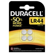 Alkaline battery Duracell LR44 (A76 / V13GA) pack of 4