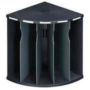 Sorter The Corner 5 compartments Exacompta black/grey