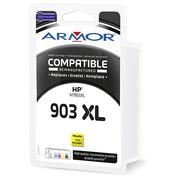 Cartouche Armor compatible HP 903XL jaune pour imprimante jet d'encre