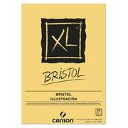 EN_Bloc dibujo canson xl bristol din a4 extraliso encolado 21x29,7 cm 50 hojas 180 gr