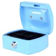 Coffret caisse Pavo 125x95x60mm bleu clair
